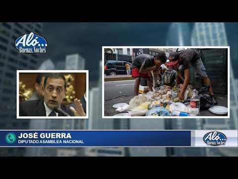 """ALO BN 08/01: JOSE GUERRA: """"EL PROBLEMA NO ES SOLO EL GOB. SINO EL MODELO"""" SEG.02"""