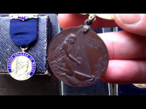 London College of Music historic medal awards