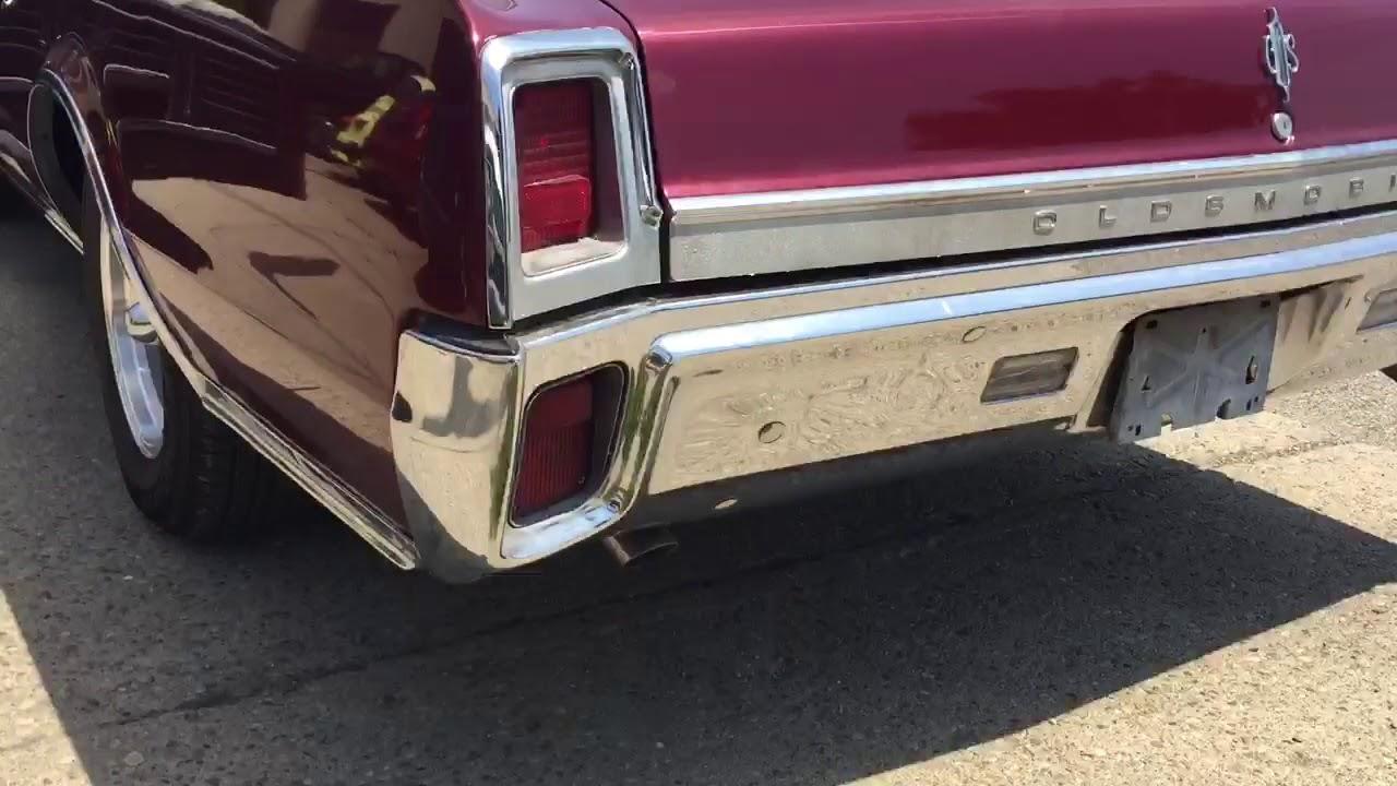 1967 Oldsmobile CUTLASS SUPREME HOLIDAY COUPE 330-4, K50, 3