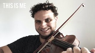 """Download Lagu This Is Me - Keala Settle (from """"The Greatest Showman"""") [Violin Cover] 