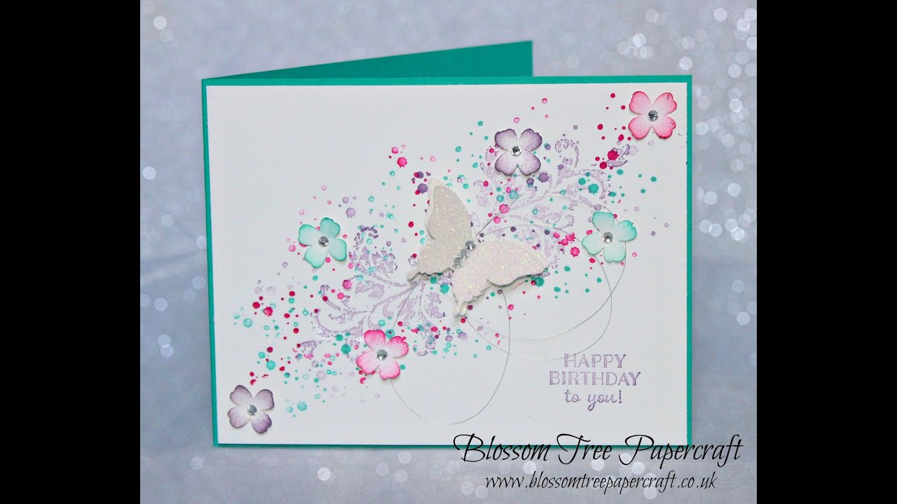 Stampin Up Timeless Textures Birthday Card using accents of – Stampin Up Birthday Card