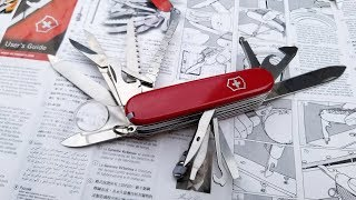 Champion Plus Swiss Army Knife by Victorinox Unboxing and Review.