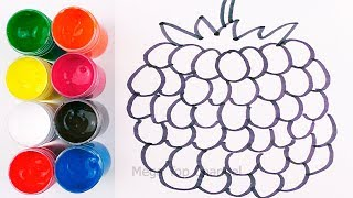 How To Draw Fruits and Vegetables | Learn Colors for kids | Learn Names of Fruits and Vegetables