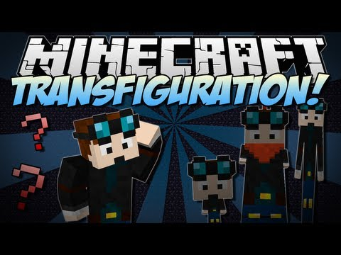 Minecraft | TRANSFIGURATION! (Bobbleheads, Stickmen & More!) | Mod Showcase [1.6.4]