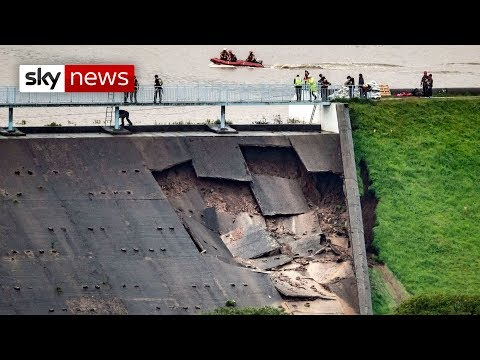 BREAKING NEWS: Whaley Bridge dam wall structural integrity a