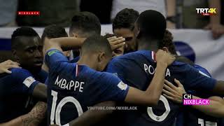 France 4 2 Croatia WC 2018 Final Highlights English Commentary 4K UHD