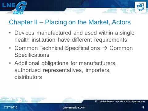 Recent EU Medical Device Regulatory Evolutions: Moving Forward