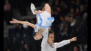 The Answer Япония прыжок с выбросом российских фигуристов Панфиловой Рылова это что то невер