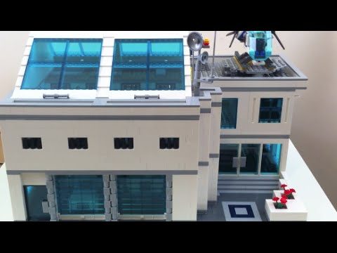 lego police station moc instructions