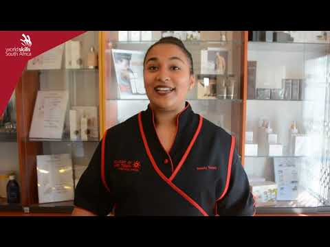 Tarryn Brown - South Africa's Beauty Therapy Competitor for World Skills Competition Abu Dhabi 2017
