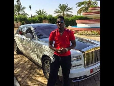 Asamoah Gyan Expensive lifestyle today with luxury cars and ...