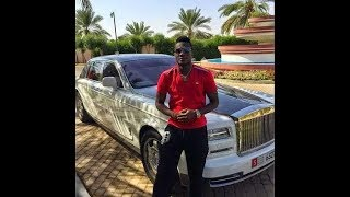Asamoah Gyan Expensive lifestyle today with  luxury cars and mansion