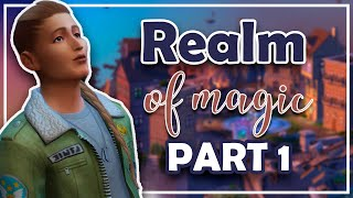 YER A W ZARD G LBERT  REALM OF MAG C. Episode 1 thesims4 letsplay