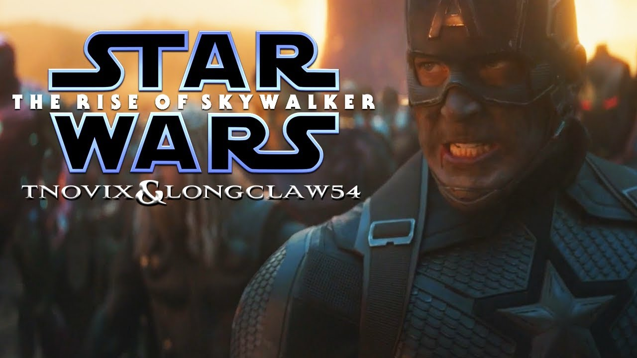Avengers Endgame Star Wars The Rise Of Skywalker D23 Special Look Style W Longclaw54 Youtube