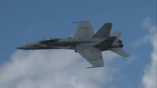 2016 Rhode Island ANG Open House & Airshow - F/A-18C Hornet Demonstration