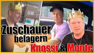 Zuschauer belagern Knossi und Monte in Buxtehude!
