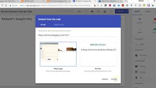 How to Import Blogger Posts Into New Google Sites