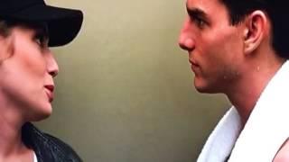 Top gun Tom Cruise-сцена в лифте