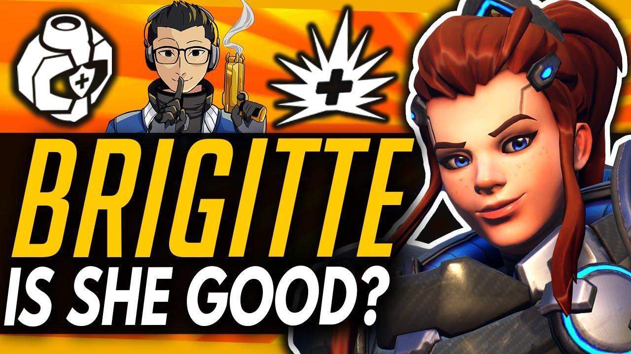 Overwatch | How Good Is New Brigitte? (ft KarQ) thumbnail