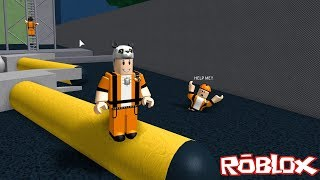 Escape from the Construction Zone!! - Roblox Escape The Construction Site Obby with Panda!