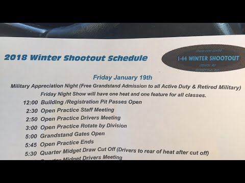 Lebanon I-44 Speedway Winter Shootout Friday and Saturday