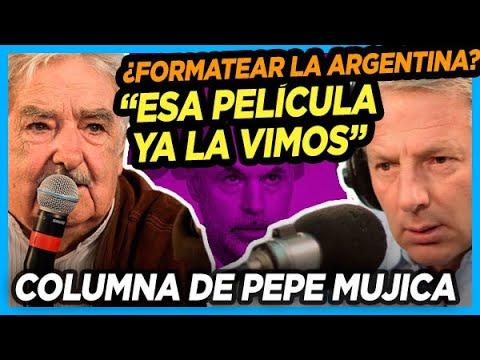 """🔥 PEPE MUJICA sobre los dichos de Longobardi y los que quieren """"formatear la Argentina"""""""