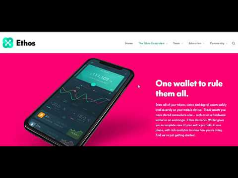 ETHOS Universal Wallet Airdrops and Token Project Review