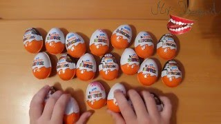 20 Surprise Eggs Kinder Surprise Star Wars, Kung Fu Panda, Kinder for girls Toys | #MrUsegoodART