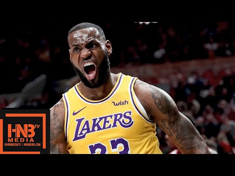Los Angeles Lakers vs Portland Trail Blazers 1st Half Highlights | 10.18.2018, NBA Season