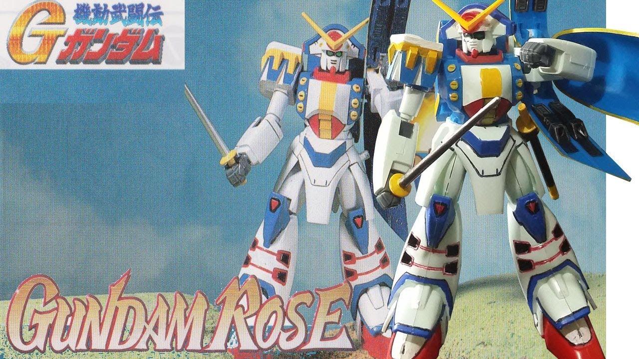 1 144 Non Grade Gundam Rose Youtube