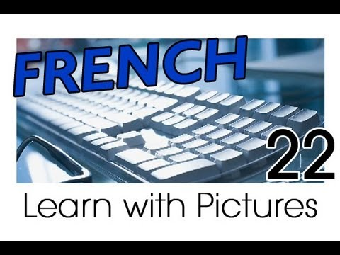 Learn - French Computer Vocabulary