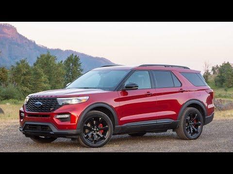 Новый Ford Explorer 2020 Американка. Обзор