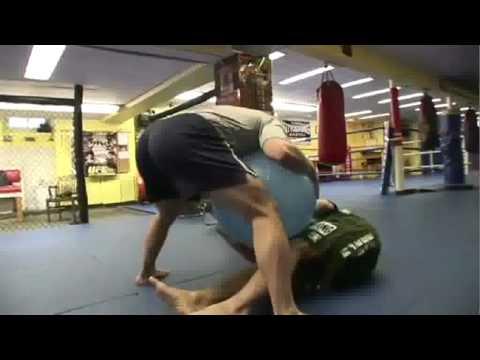 Preparação Física  Fitness Jiu-Jitsu Submission e MMA: fuga de quadril c bola suíça