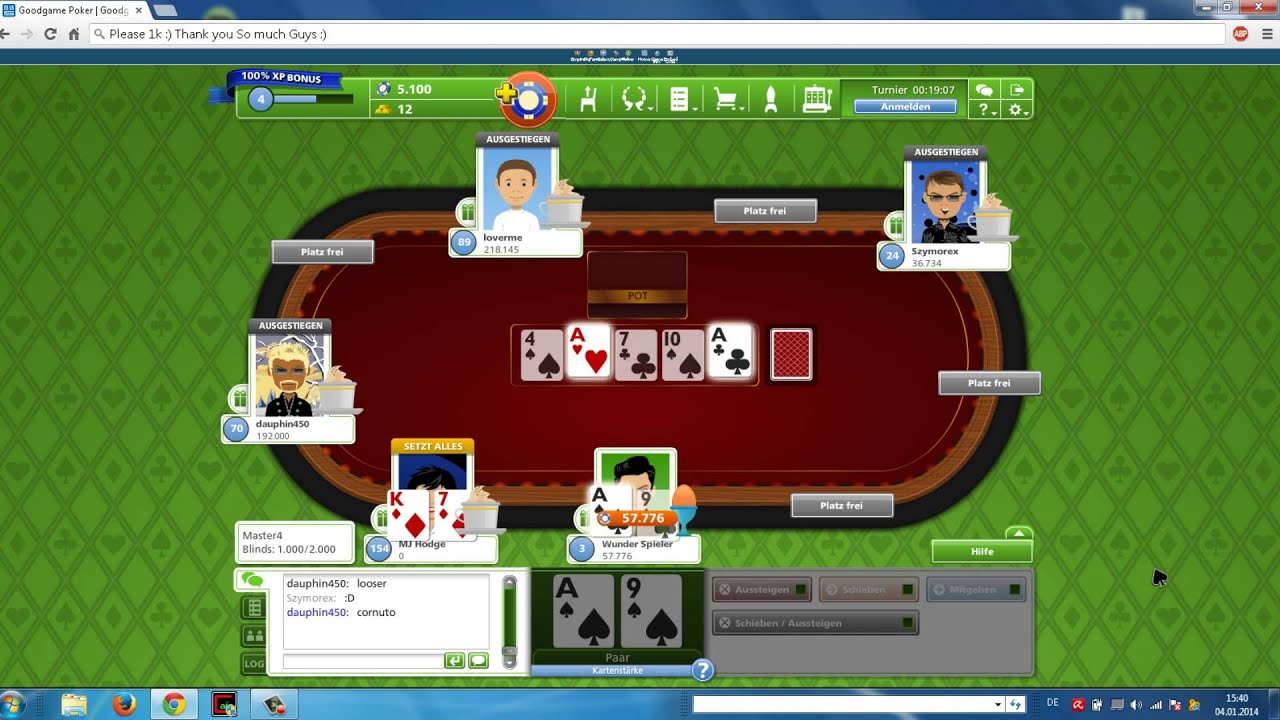 Goodgame Poker 2