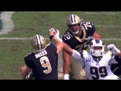 None - Saints QB Drew Brees out at least six weeks with thumb injury
