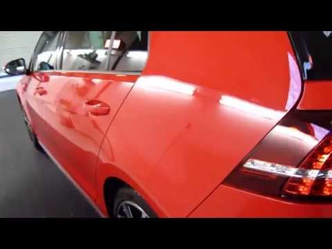 VW golf GTI new car paint correction and protection.