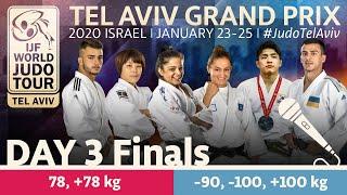 Judo Grand-Prix Tel Aviv 2020 - Day 3: Finals