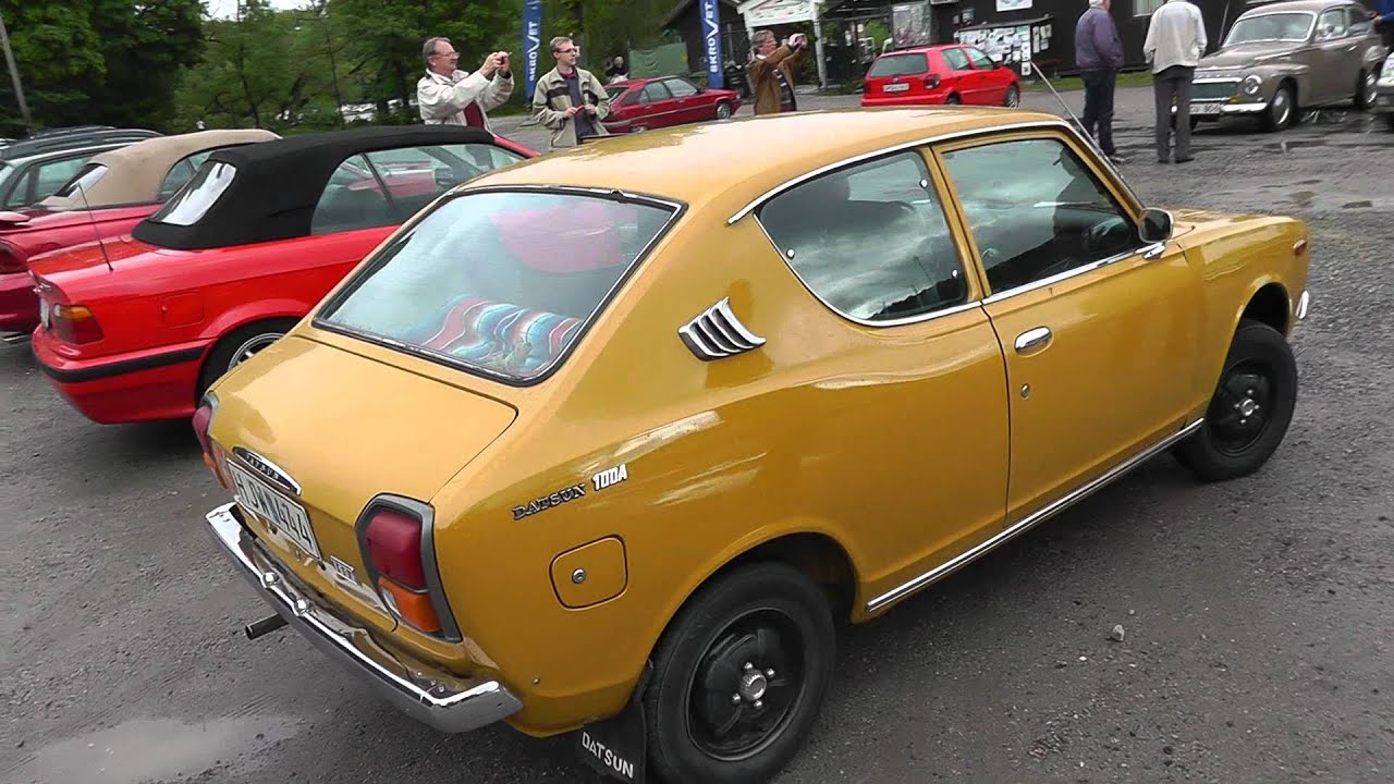 the back of the Datsun