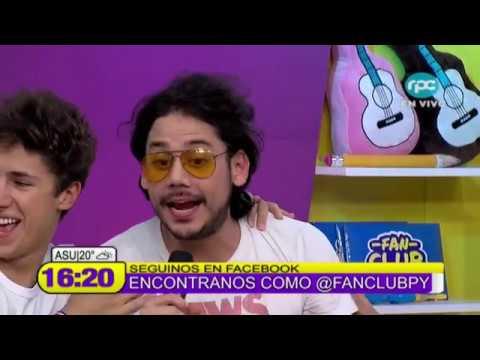 Juanpa Zurita, Juca y Rix en Fan Club