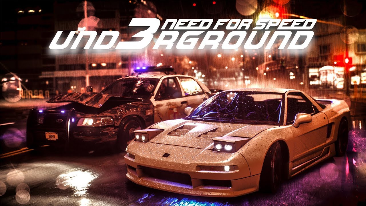 Need For Speed Underground 3 Reveal Trailer Concept By Captain