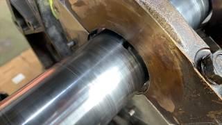Запчасти в работе: Ремонт постели коленчатого вала двигателя 3.8л бензин Mitsubishi Pajero