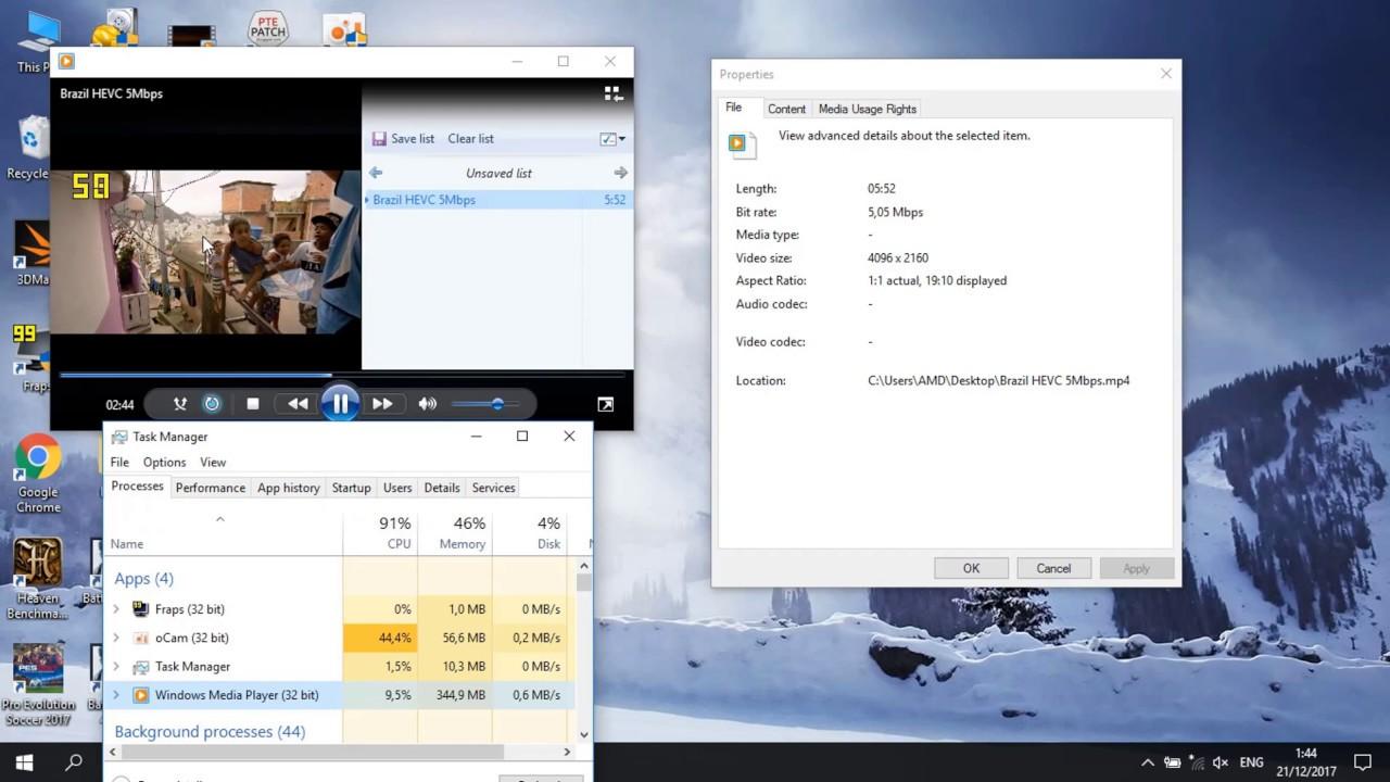 4k Hevc Test Review Hp 14 Bw002ax Notebook Amd A9 1 15 Ba004ax