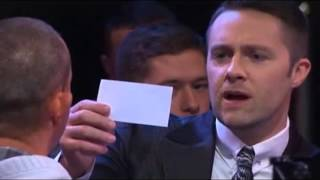 Keith Barry Brain Hacker - Man rip off 50 euro note