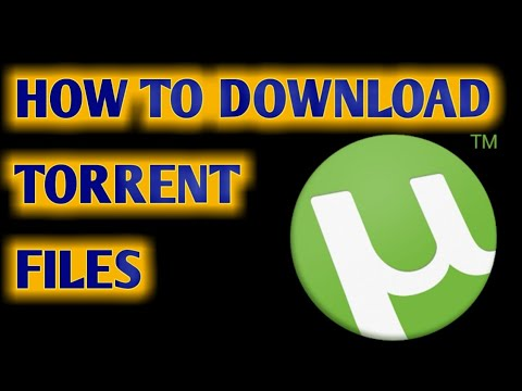 How to Download a File From Torrent...