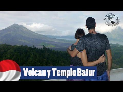 Volcán y Templo Batur, Kintamani, Bali. Indonesia 2016