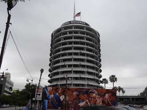 Capitol Records Building Downtown Hollywood Your Review Walk Of Fame Stars Architecture
