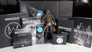 Watch Dogs DedSec Edition [PC/PS3/PS4/360/XBO] - rozpakowanie