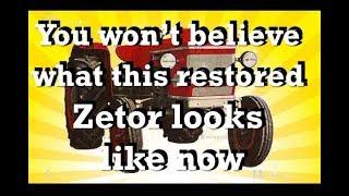 Zetor 2511 Restoration [1970 Vintage tractor restoration]