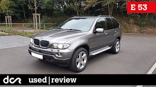 Buying a used BMW X5 E53 - 1999-2006, Common Issues, Engine types, SK titulky / Magyar felirat