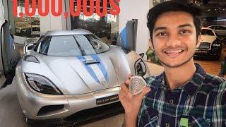 Indian Kid in Dubai Hypercar